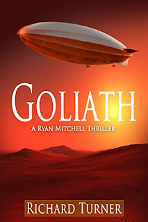 Goliath -  A thrilling globetrotting thriller book promotion by Richard Turner