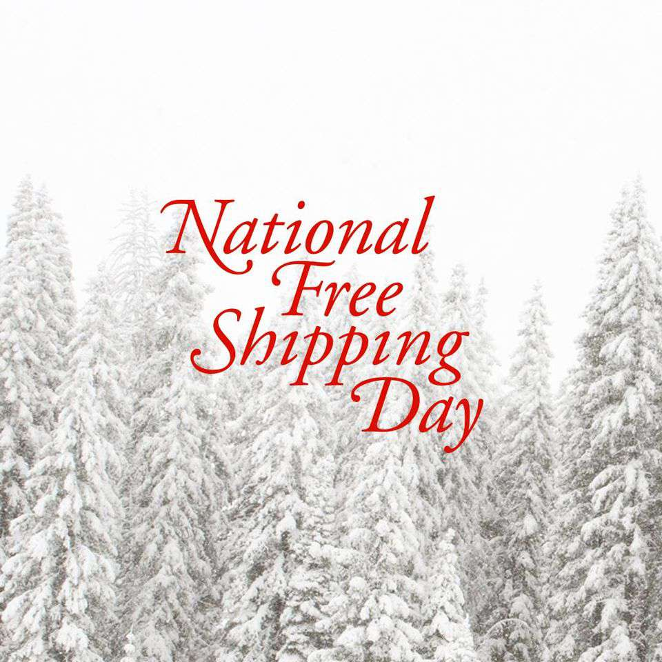 National Free Shipping Day Wishes