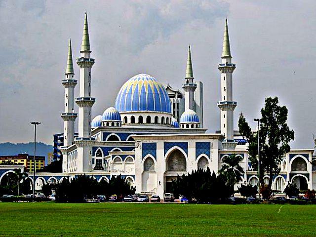 Gambar Senibina Masjid Negeri Pahang Relaks Minda Gambar