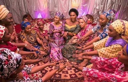 See 'LEAKED' Photos From Zahra Buhari's Ongoing Traditional Wedding