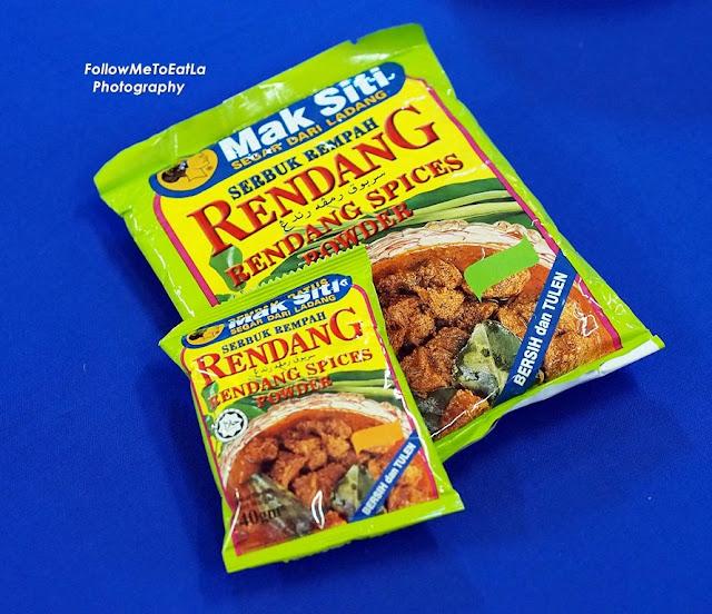 Mak Siti's Rendang Spices Powder or Serbuk Rempah Rendang