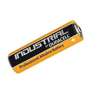 pile duracell industrial 10pezzi stilo aa