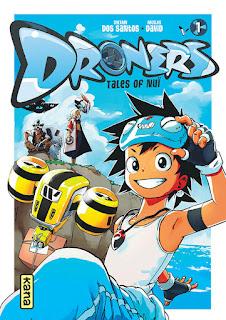 Couverture du manga Droners : tales of Nuï tome 1