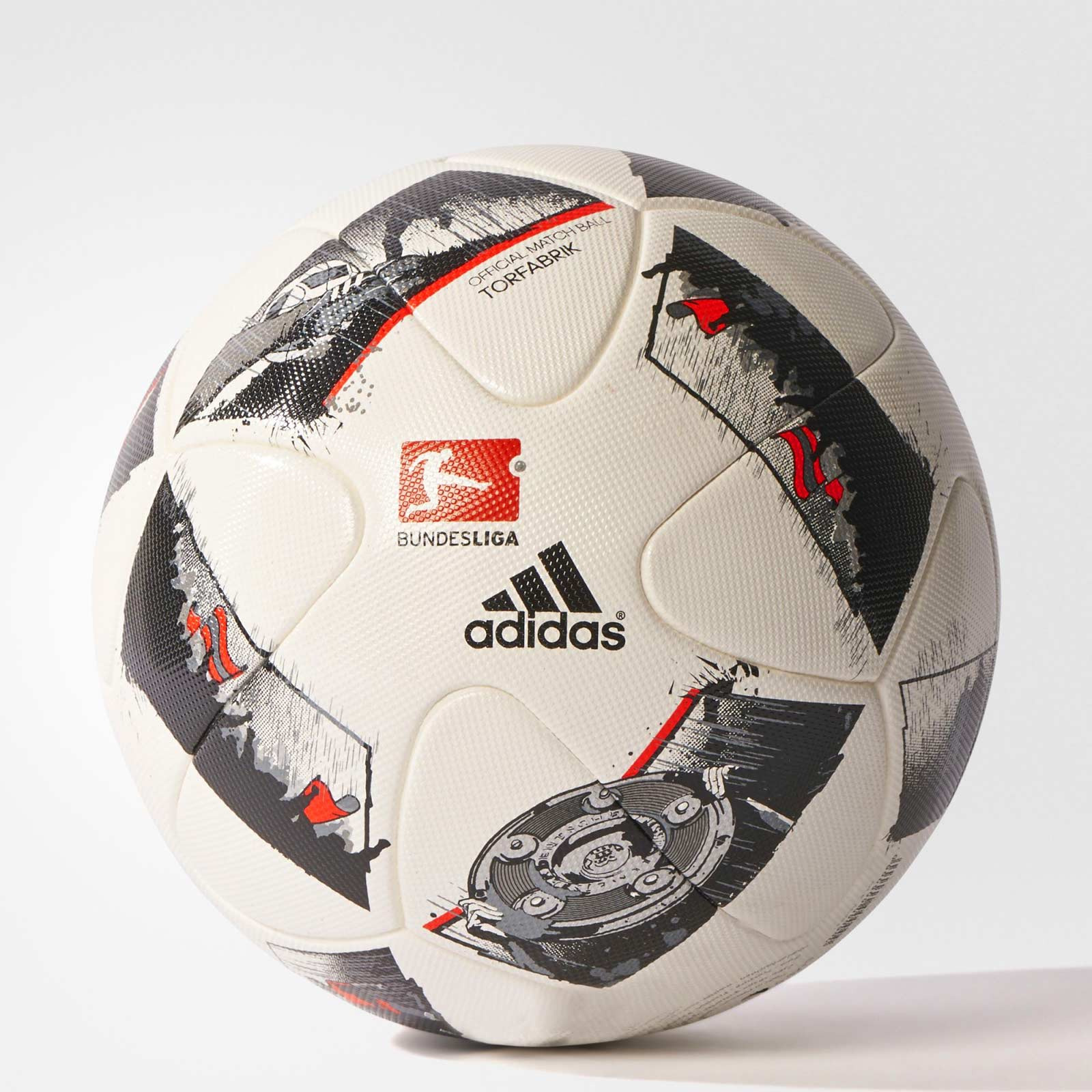 offizieller adidas torfabrik bundesliga 16 17 spielball. Black Bedroom Furniture Sets. Home Design Ideas