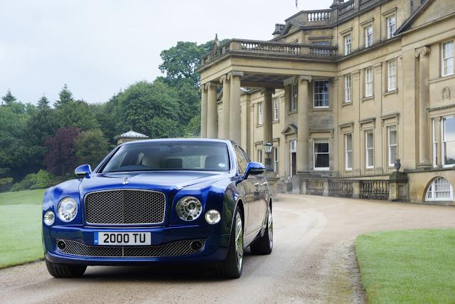 2016 Bentley Mulsanne Blue
