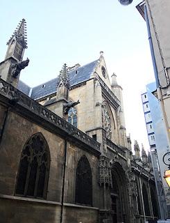 The Church of Saint Germain l'Auxerrois in Paris