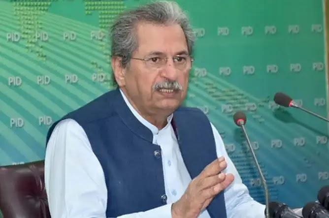 Shafqat Mahmood issues important statement regarding exams