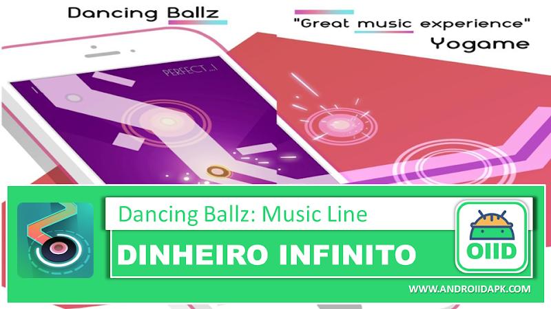 Dancing Ballz: Music Line – APK MOD HACK – Dinheiro Infinito
