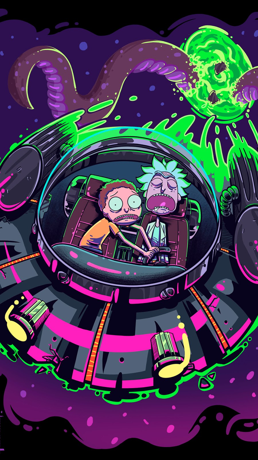 Rick and Morty Background Wallpaper