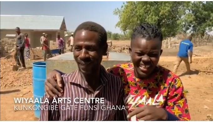 Wiyaala builds an Art Center in Funsi