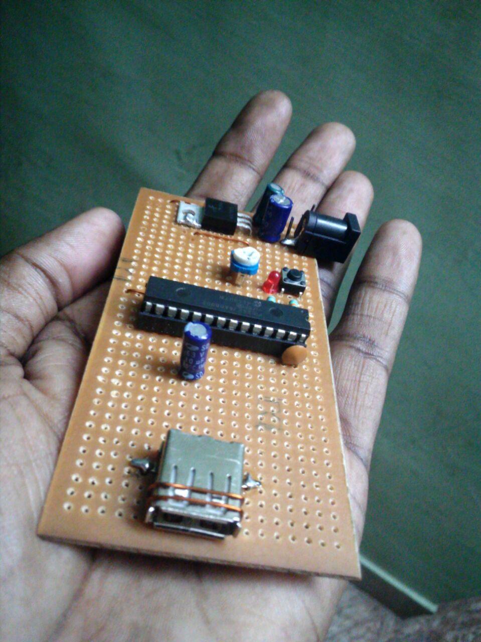 PIC24fJ64GB002 to Android using USB (AOAv2 - HID Protocol) | Vidnis