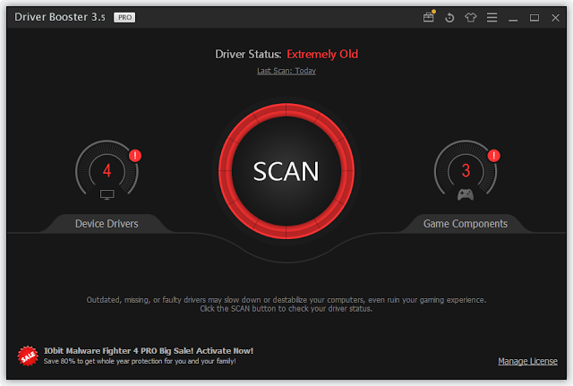 driver booster 3.5 serial key 2017