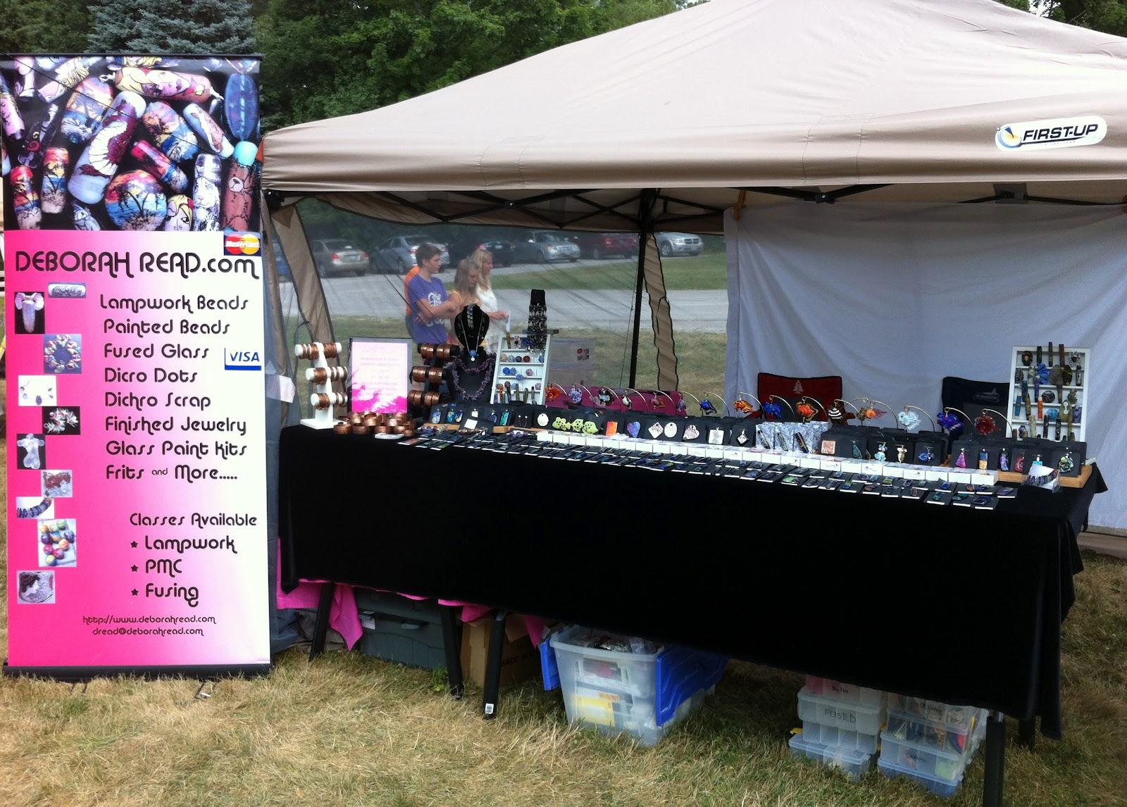 DEBORHREAD COM: Purple Turtle Festival Craft Show