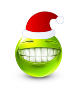 Christmas Smiley Icon 2