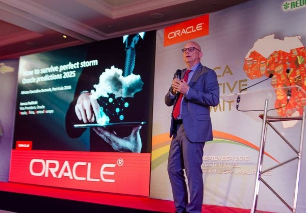 "'Africa Executive Summit' hosted in Mauritius to drive awareness and highlight the impact of Oracle Cloud Solutions for business growth  PORT LOUIS, Mauritius, September 8, 2016/ -- Exchange of best practices and gaining expert insights from top cloud strategists was the key focus for Oracle (www.Oracle.com) customers who took part in Oracle's two day long 'Africa Executive Summit' that concluded today in Mauritius.    Dozens of Oracle customers gathered to understand various aspects of the cloud adoption process including capacity building, innovation, security and the ability to leverage Internet of Things (IoT) for driving business growth with Oracle cloud solutions.   Janusz Naklicki, Vice President of the Russia, Africa and Central Europe, Oracle commented: ""Cloud adoption in Africa is growing at a rapid pace as organizations now realise that cloud offers them speed, value and better ROI. Africa is a priority market for us and the Africa Executive Summit is in line with our commitment to further drive this interest and support our customers in Africa in their journey to the cloud""."