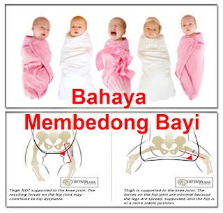 Bahaya Membedong Bayi