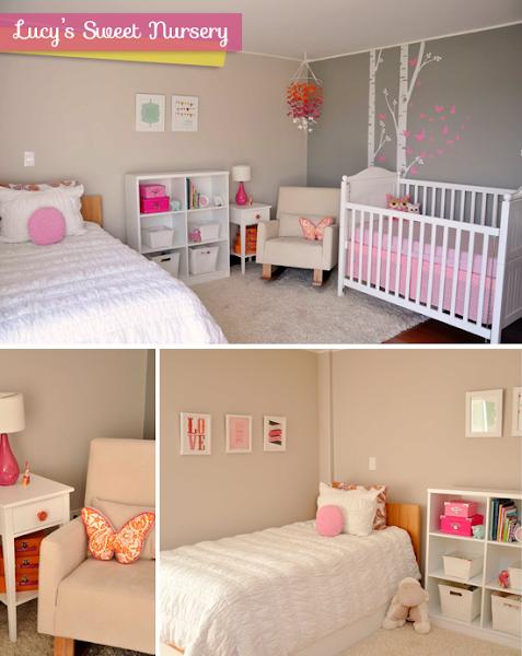2x1 dormitorio de bebe y de ni a decorar tu casa es - Dormitorios de bebes nina ...