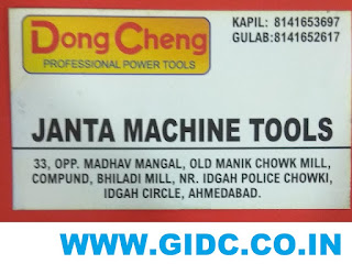 JANTA MACHINE TOOLS - 8141652617 8141653697