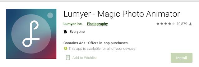 Lumyer - Magic Photo Animator