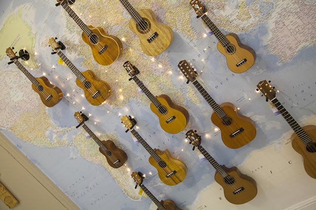 World of Ukes world wall