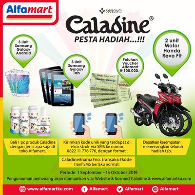Caladine Pesta Hadiah – Alfamart