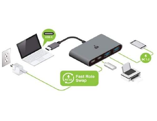 IOGEAR GUH3C22P USB-C 10G 4-Port Hub
