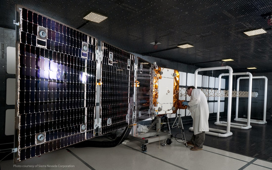 Orbcomm x 6 en SpaceX Falcon 9