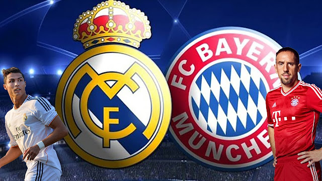 Horário do jogo Real Madrid e Bayern na Globo - 25/04/2018