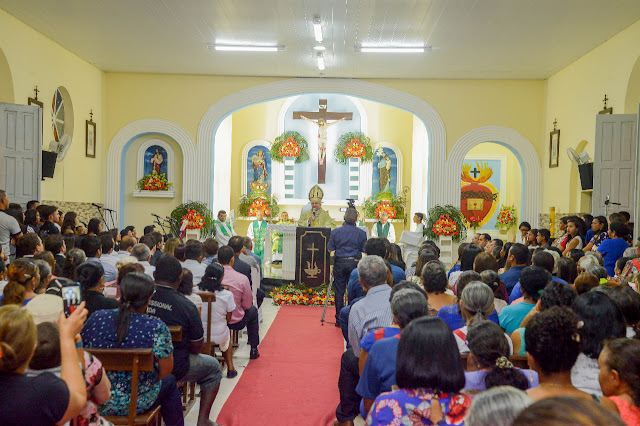 Em Carneiros, Paróquia de Nossa Senhora da Conceição é criada