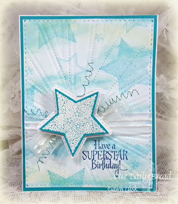 Our Daily Bread Designs Stamp Set: Superstar, Our Daily Bread Designs Custom Dies: Double Stitched Stars, Sparkling Stars, Sunburst Background
