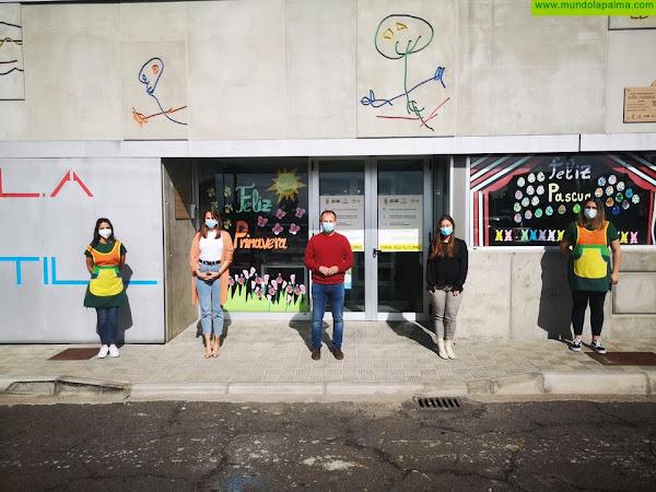 La Escuela Infantil 'Doña Carmela' de El Paso abre el plazo de prematrícula