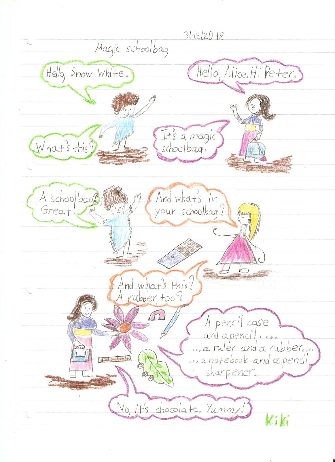 English In Italian: Magic Book (Unit 1, Lesson 2