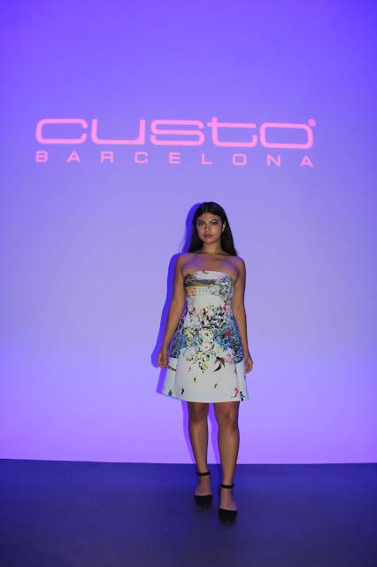 Kelly Fountain Custo Barcelona Fashion Show SS19