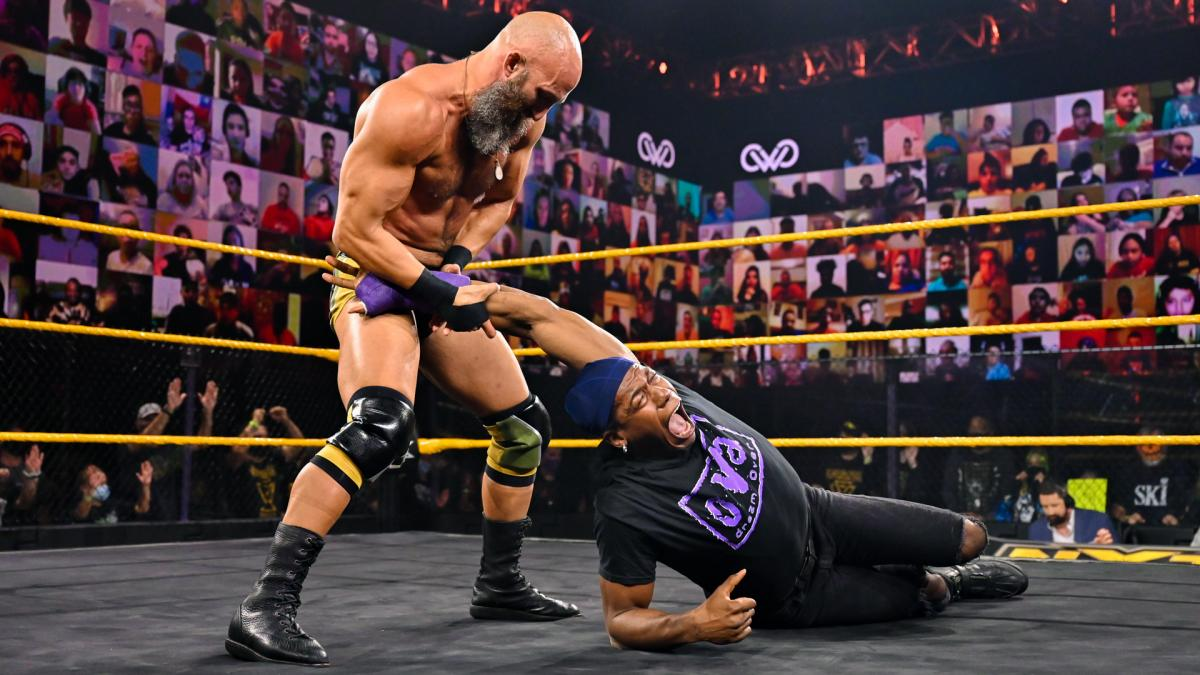 Tommaso Ciampa and Velveteen Dream on WWE NXT