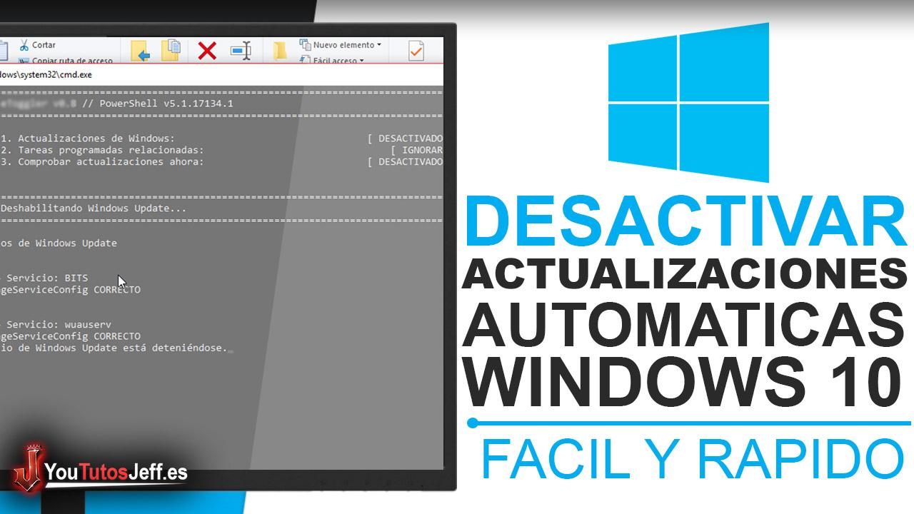 Como Desactivar Actualizaciones Automáticas en Windows 10 - Trucos Windows 10