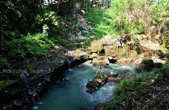 Aliran sungai Boyong, lokasi Green Kayen, Condong Catur