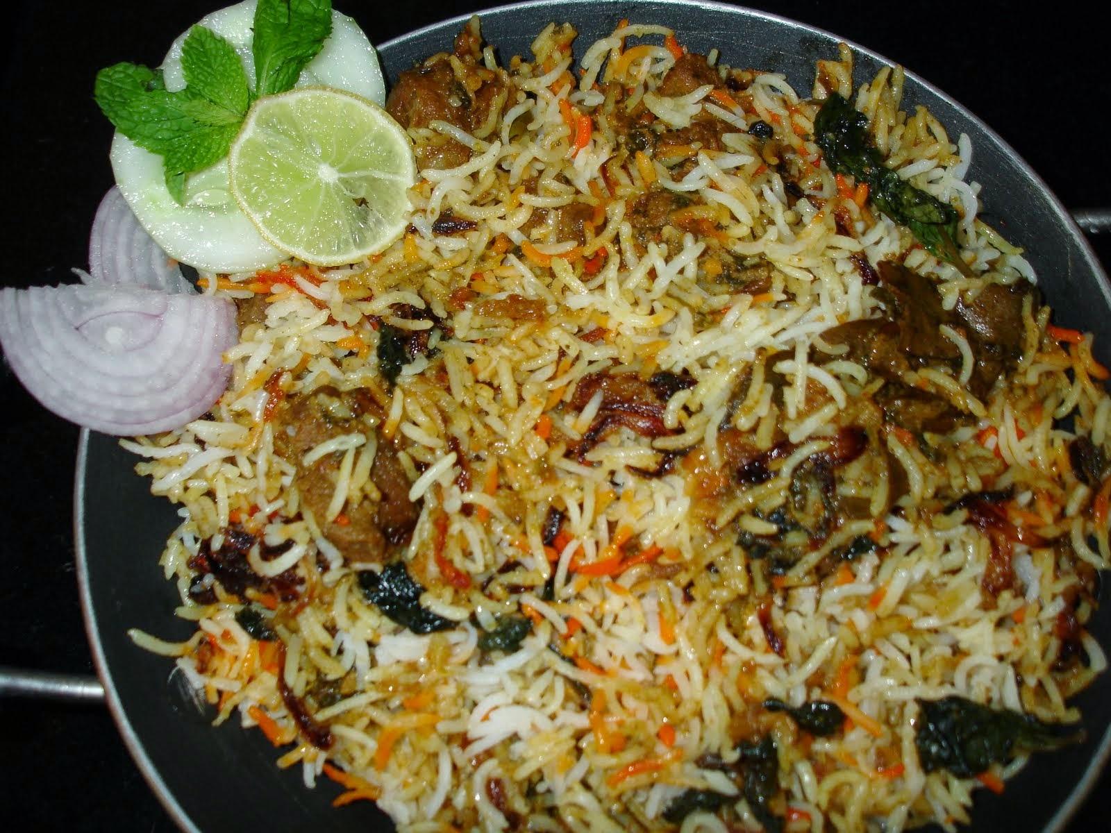 Imperial Inn - Hyderabadi Mutton Dum Biryani (non-veg)