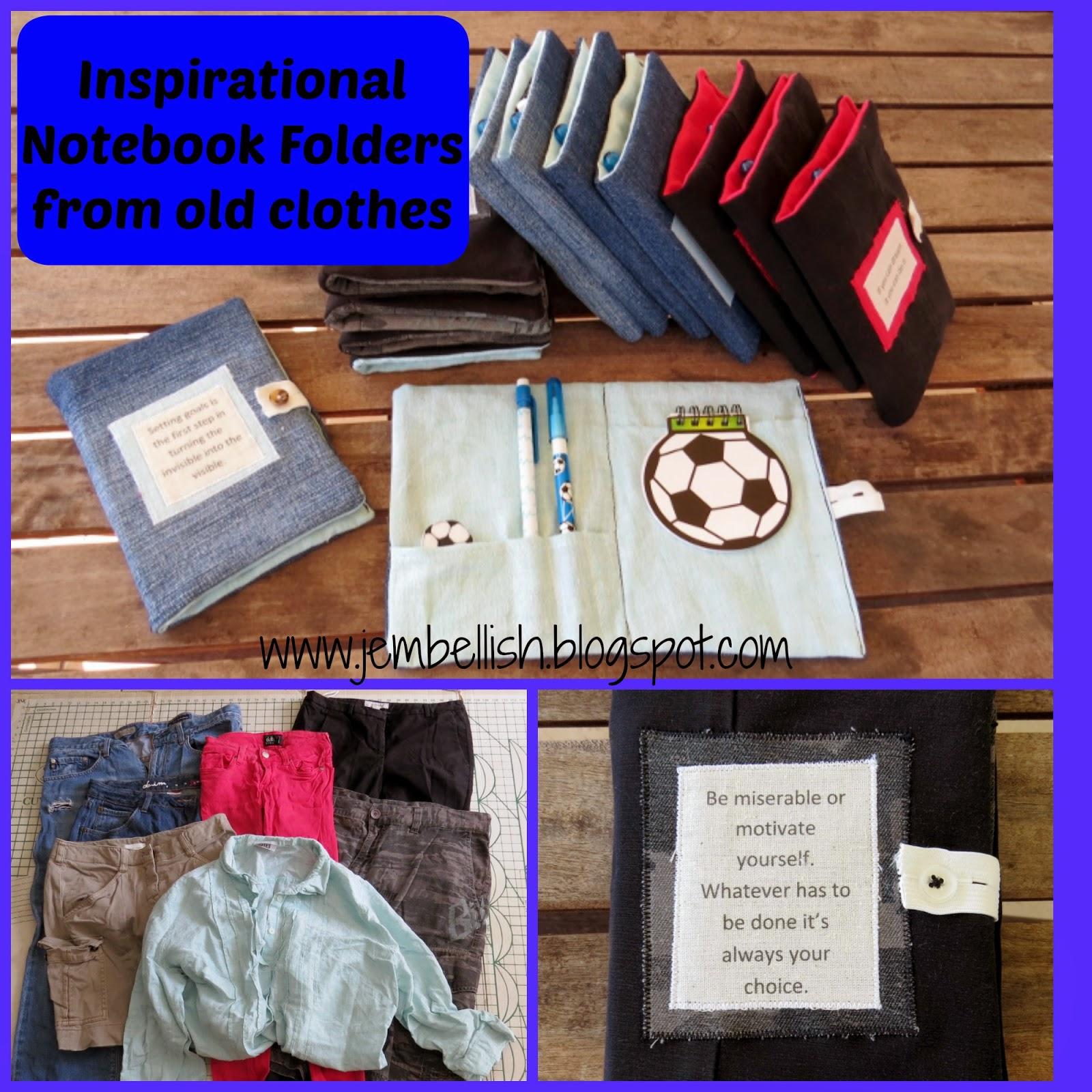 Inspirational Notebook Folders