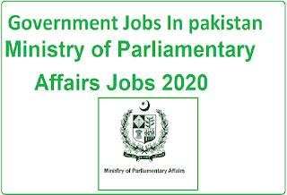 Govt-Jobs-in-Pakistan, Ministry-of-Parliamentary-Affairs-Jobs-2020, Govt-jobs,jobs-in-Pakistan