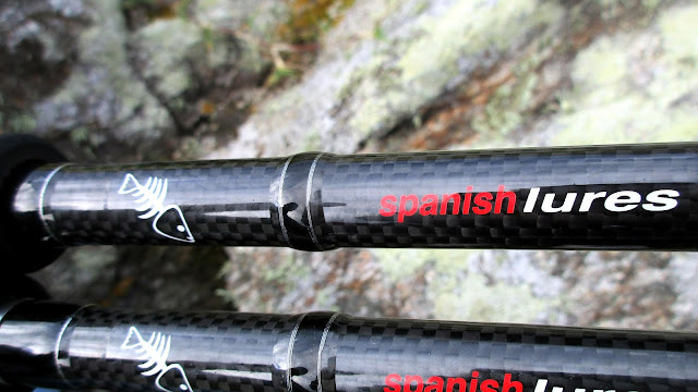 CARBONO - NEW caña spinning FISTERRA de spanish Lures