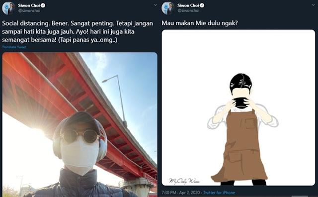 Siwon Sering Pakai Bahasa Indonesia Di Medsos, Netizen Curiga Bakal Jadi Caleg