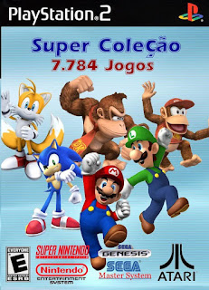Super Collection 7.784 Games PS2 Torrent