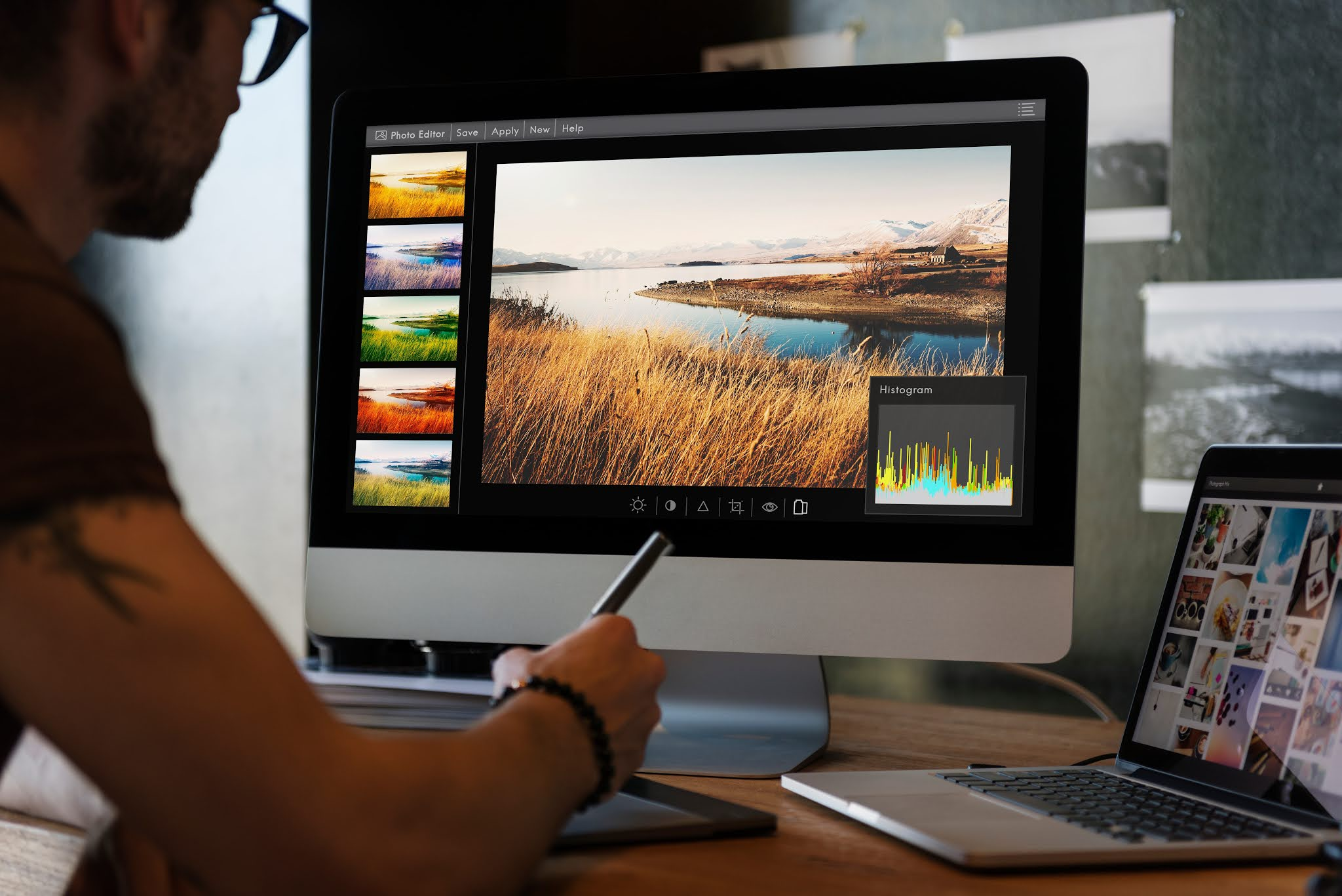 kerja sampingan untuk pelajar, Editing Foto