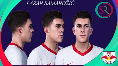 PES 2021 Faces Lazar Samardžić by SR