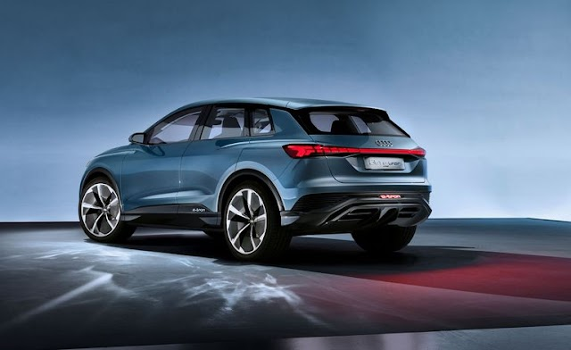 The Audi Q4 e-tron Concept Electric SUV Could Be a Tesla Model Y Fighter