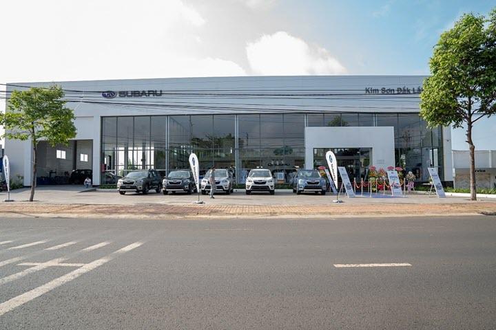 Motor Image Việt Nam khai trương đại lý Subaru đầu tiên tại khu vực Tây Nguyên