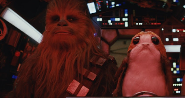 Star Wars, Chewbacca e Porg