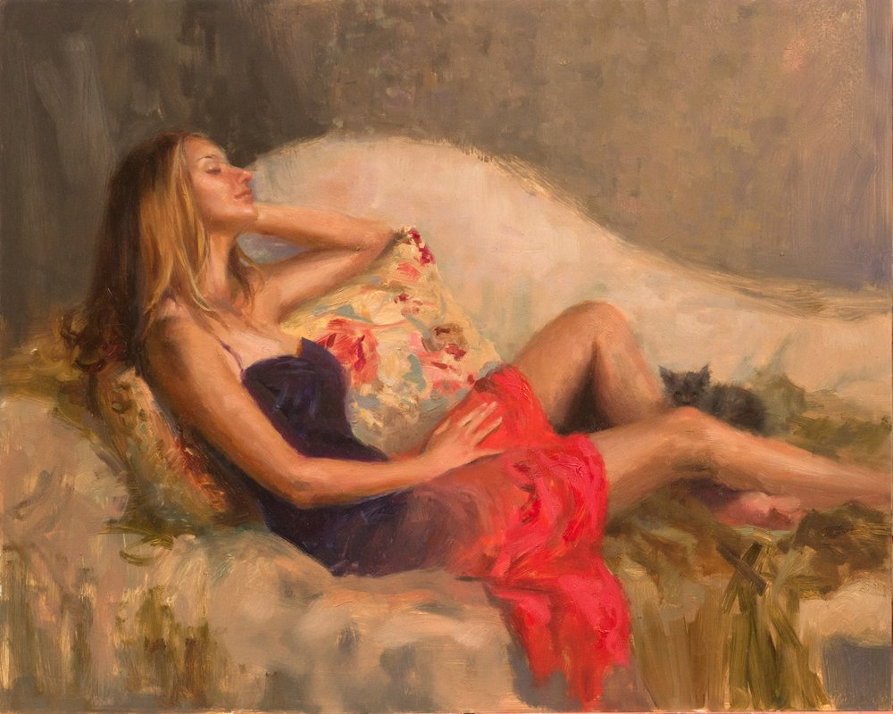 H. Momo Zhou 1981 Born  Figurative Painter