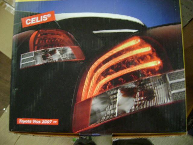 Rev Motorsport Vios Year 07 09 Hella Light Bar Style Rear