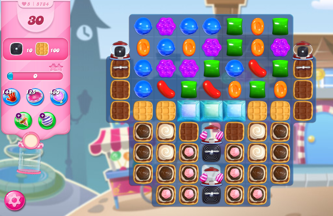 Candy Crush Saga level 5784
